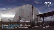 Neue Schutzhülle für Reaktor in Tschernobyl