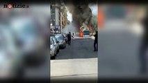 Roma, l'ennesimo bus in fiamme: paura su via Appia Nuova   Notizie.it