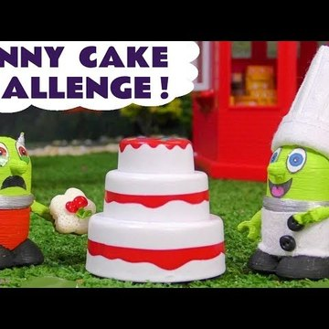 Funny Funlings Cake Challenge Toy Story at McDonald's with a Rascal Funling Play Doh prank in this family friendly full episode english story for kids