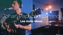 "Johan Papaconstantino ""Les Mots Bleus"""