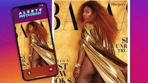 Serena Williams se dévoile au naturel sur la Une d'Harper's Bazaar