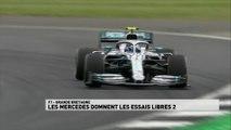 Grand Prix de Grande-Bretagne - Le résumé des essais libres 2