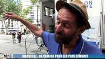 Marseille : un camion douche pour les plus démunis