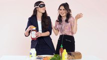 Laura and Vanessa Marano Play I Dare You