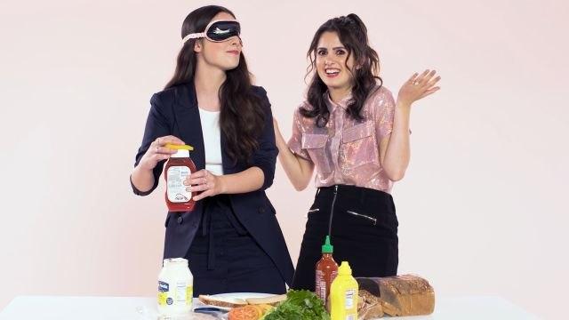 Laura and Vanessa Marano Play I Dare You