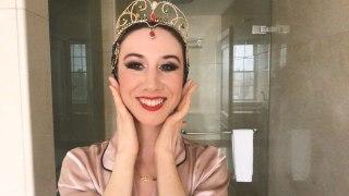 Watch Ballerina Isabella Boylston's Dramatic Black Swan Makeup Transformation