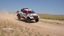 Rallye Silk Way 2019 : pneus crevés et pilotes égarés pour cette 6ème étape