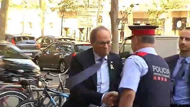 El Tribunal Superior de Justicia de Cataluña (TSJC) sienta en el banquillo a Quim Torra