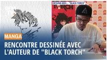 Rencontre dessinée avec Tsuyoshi Takaki, l'auteur du manga « Black Torch »