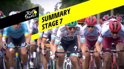 Summary - Stage 7 - Tour de France 2019
