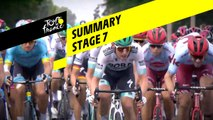Summary - Stage 7 - Tour de France 2019