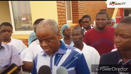 Bras de fer entre la Clinique les '' Genêts '' et la Société générale Burkina Faso (SG-BF)  Je puis vous certifier que cette maison est à nous et elle le restera  Dr Paul Stanislas Zoungrana, (DG de la clinique les Genêts)