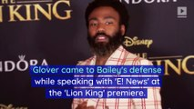 Donald Glover Defends Halle Bailey's Casting in 'The Little Mermaid'