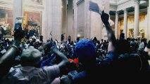 Occupation du Panthéon par des centaines de sans-papiers