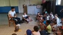 Nicolas de Koh-Lanta 2019 a rendu visite à des enfants dans un stage d'aventure à Auvelais
