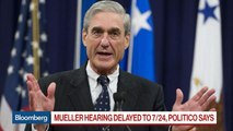 Why the Mueller Hearing Could Be Delayed