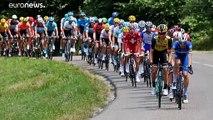 Tour de France: settima tappa a Groenewegen, Ciccone resiste in giallo