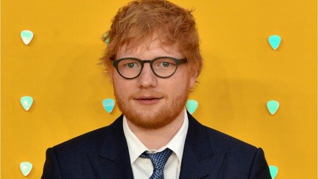 Ed Sheeran Is A Married Man