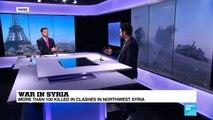 war in syria FRANCE 24 analysis with Wassim Nasr