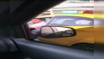 İstanbul'da bir taksici dehşeti daha!  Yol vermedi diye yol kesip, tehdit etti!