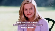 """Reese Witherspoon posted a time capsule picture with Selma Blair, and now we need to watch """"Cruel Intentions"""" again"""