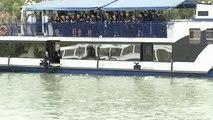 Budapest: Gedenkfeier für Opfer des Schiffsunglücks