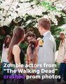 'The Walking Dead' zombies crash couple's prom photos