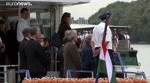 Budapest : hommage aux victimes de l'accident du Danube