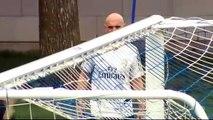 Zidane dejó la concentración por un asunto familiar