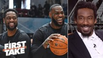 Amar'e Stoudemire wanted to form a Big 3 with LeBron and Dwyane Wade on the Heat _ First Take