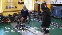 Un militaire blessé au Mali se reconstruit grâce à l'escrime