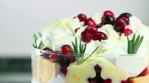 Cranberry Dreamsicle Trifle