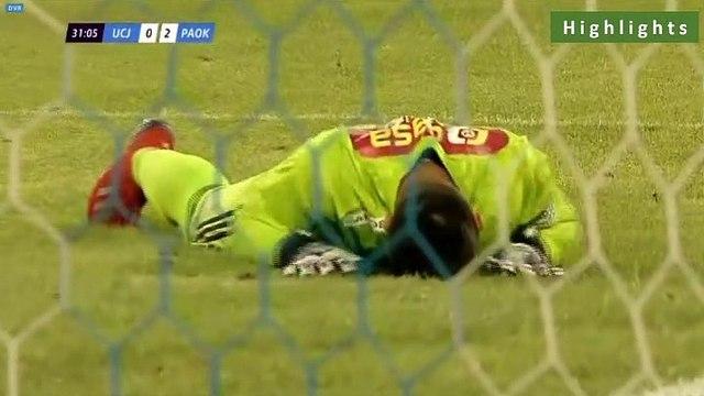 Universitatea Cluj 0-5 PAOK  - Full Highlights 12.07.2019 [HD]