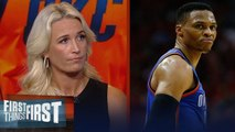 Russell Westbrook's shot selection is more vital than ever - Sarah Kustok _ NBA _ FIRST THINGS FIRST
