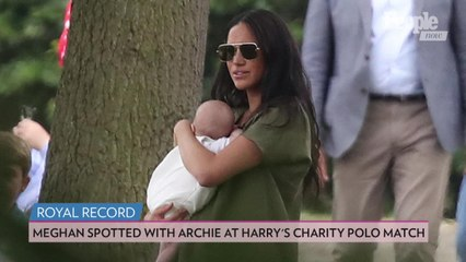 Inside Meghan Markle's First Public Outing with Son Archie: 'She Was Doting on Him'