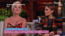 Dorinda Medley Cries, Says Luann de Lesseps Treated Her Like an 'Animal' at 'RHONY' Reunion