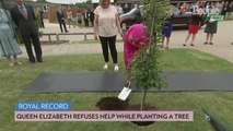 Queen Elizabeth Insists She's 'Still Perfectly Capable of Planting a Tree' at 93