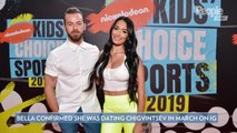 Nikki Bella and Artem Chigvintsev Make Their Red Carpet Debut as a Couple: 'It's Getting Serious'