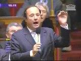 François Hollande crise boursière question d'actualité