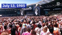 This Day in History: 'Live Aid' Concert Raises $127 Million for Famine Relief in Africa (Saturday, July 13)