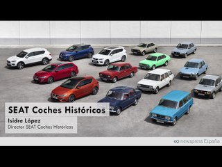 Isidre López SEAT Coches Históricos