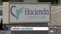 ABC15 gets first inside look at Hacienda Healthcare
