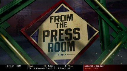 Alex Cora Discusses Eduardo Rodriguez's Start On Mound Against Dodgers