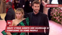 Miley Cyrus Describes Why She Got Married