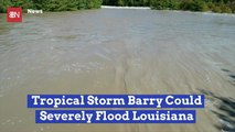 Louisiana Faces Worries Of Flooding With Tropical Storm Barry