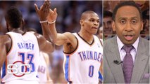 Stephen A. lists the pros and cons of the Russell Westbrook-James Harden Rockets _ SportsCenter