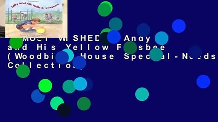 [MOST WISHED]  Andy and His Yellow Frisbee (Woodbine House Special-Needs Collection)