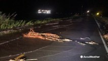 Storm Surges from Barry begin encroaching Louisiana shore