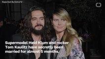 Heidi Klum And Tom Kaulitz Have Been Secretly Married Since February