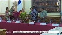 Village tahitien : changement de stratégie